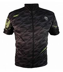 Dres SKINFIT Men black/fluo
