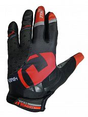 Rukavice HAVEN SINGLETRAIL   Long black/red
