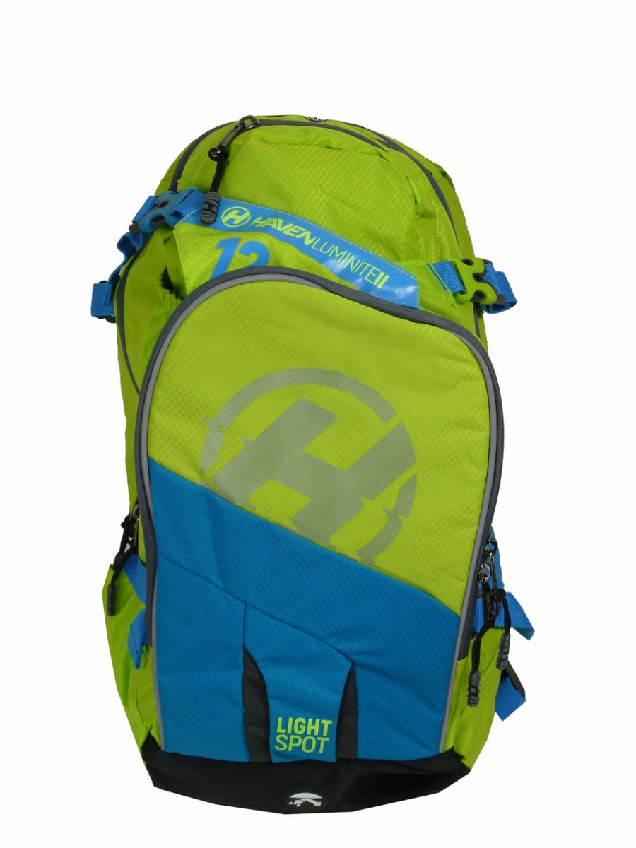 Hydratační batoh HAVEN LUMINITE II 12l green e805fde9c0
