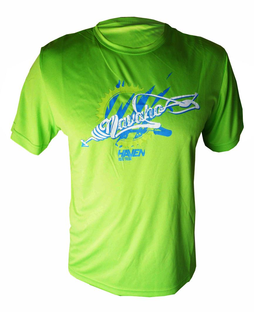 4c6951aec09 Volný dres HAVEN NAVAHO green blue