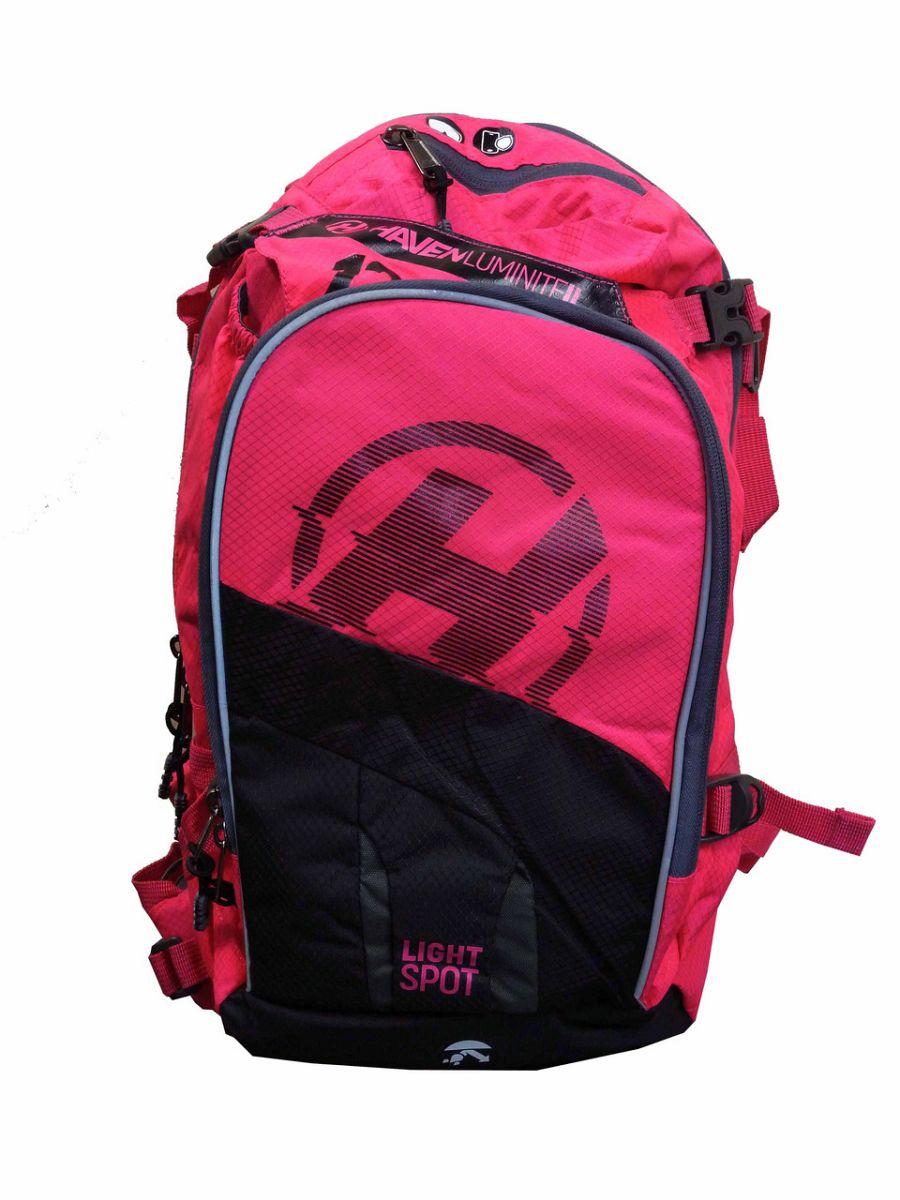 Batoh HAVEN LUMINITE II 12l black/pink s rezervoárem 2l