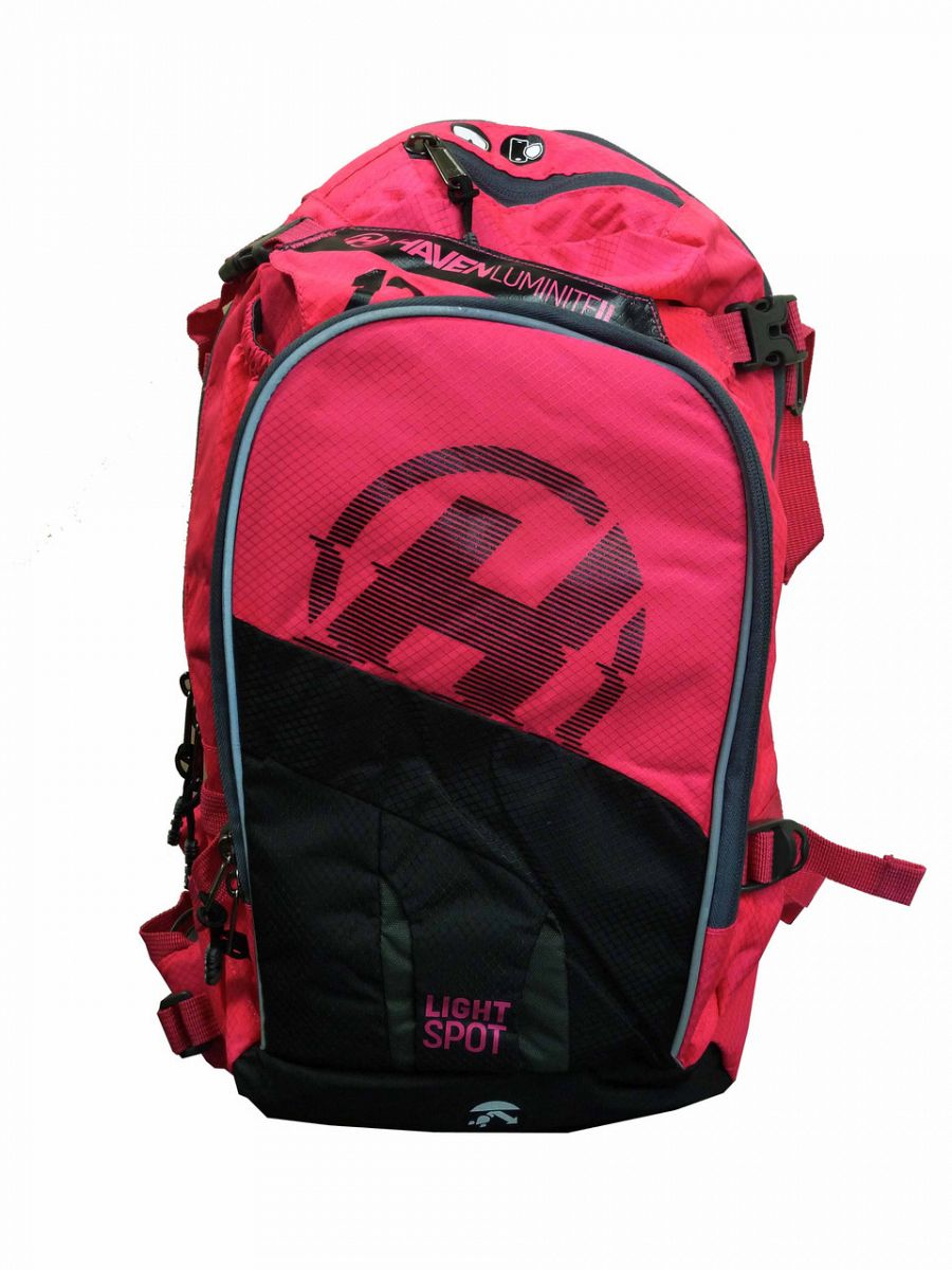 Batoh HAVEN LUMINITE II 18l black/pink s rezervoárem 2l