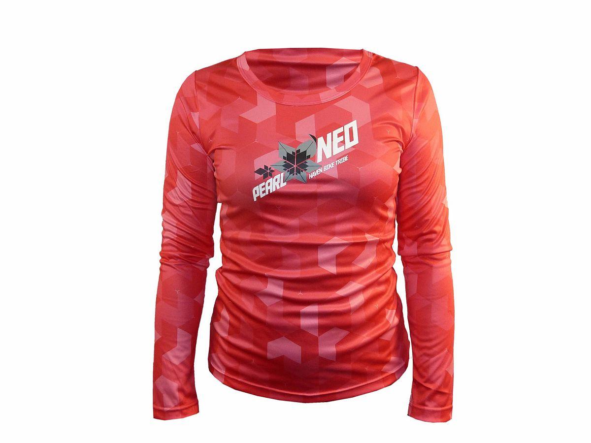 Dámský dres HAVEN PEARL NEO LONG pink/black