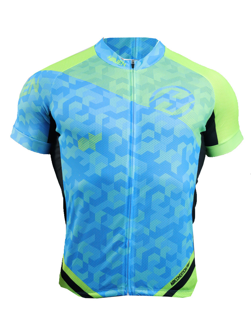 Dres HAVEN SINGLETRAIL men, blue/green