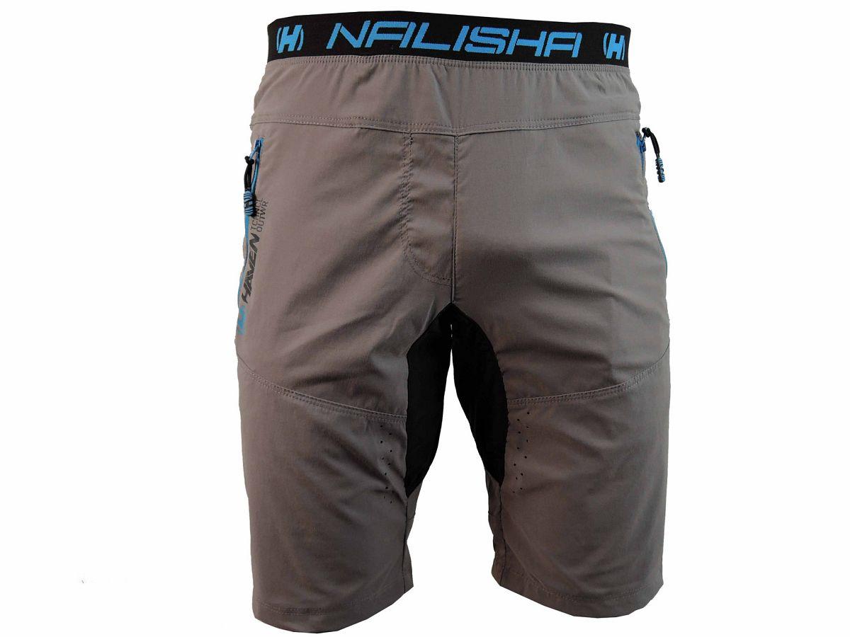 Kraťasy HAVEN NALISHA SHORT grey/blue - men/women
