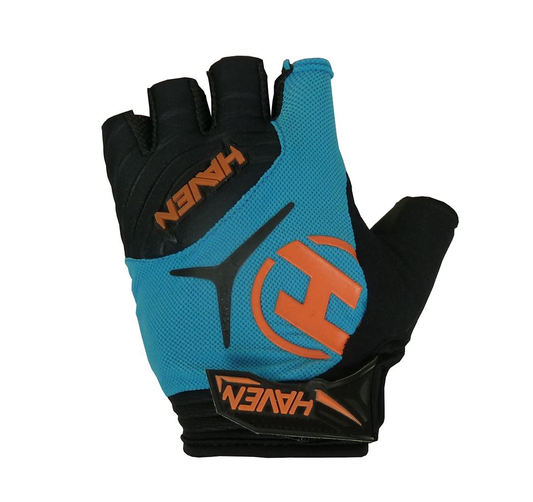 Krátkoprsté rukavice HAVEN DEMO SHORT blue/orange