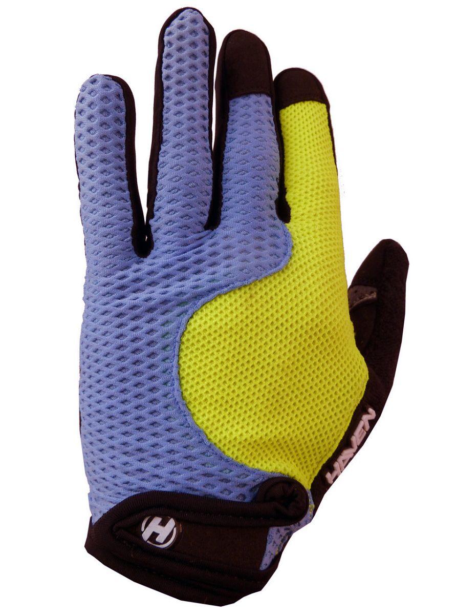 Dlhoprsté rukavice HAVEN KIOWA LONG blue/green