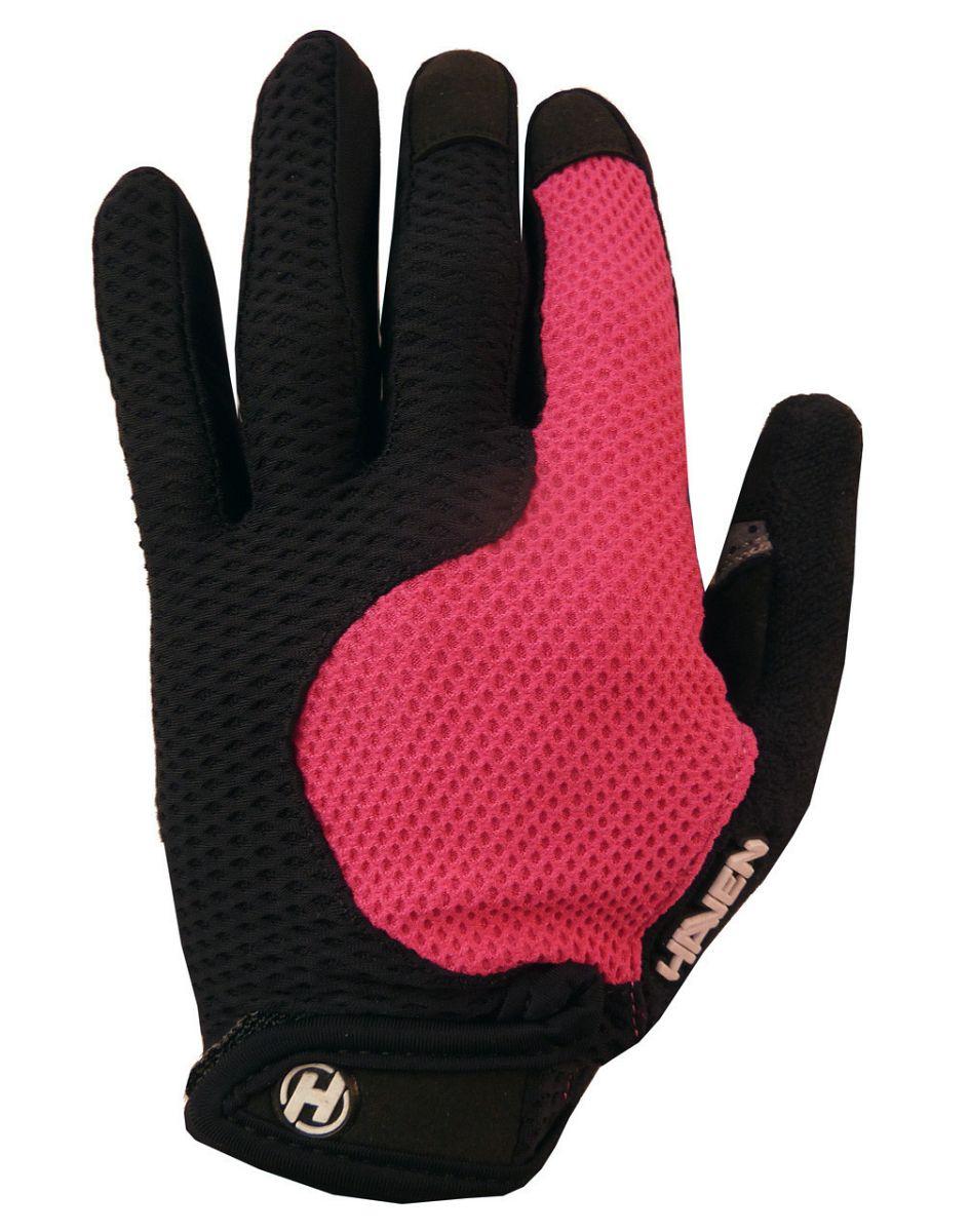Dlhoprsté rukavice HAVEN KIOWA LONG pink