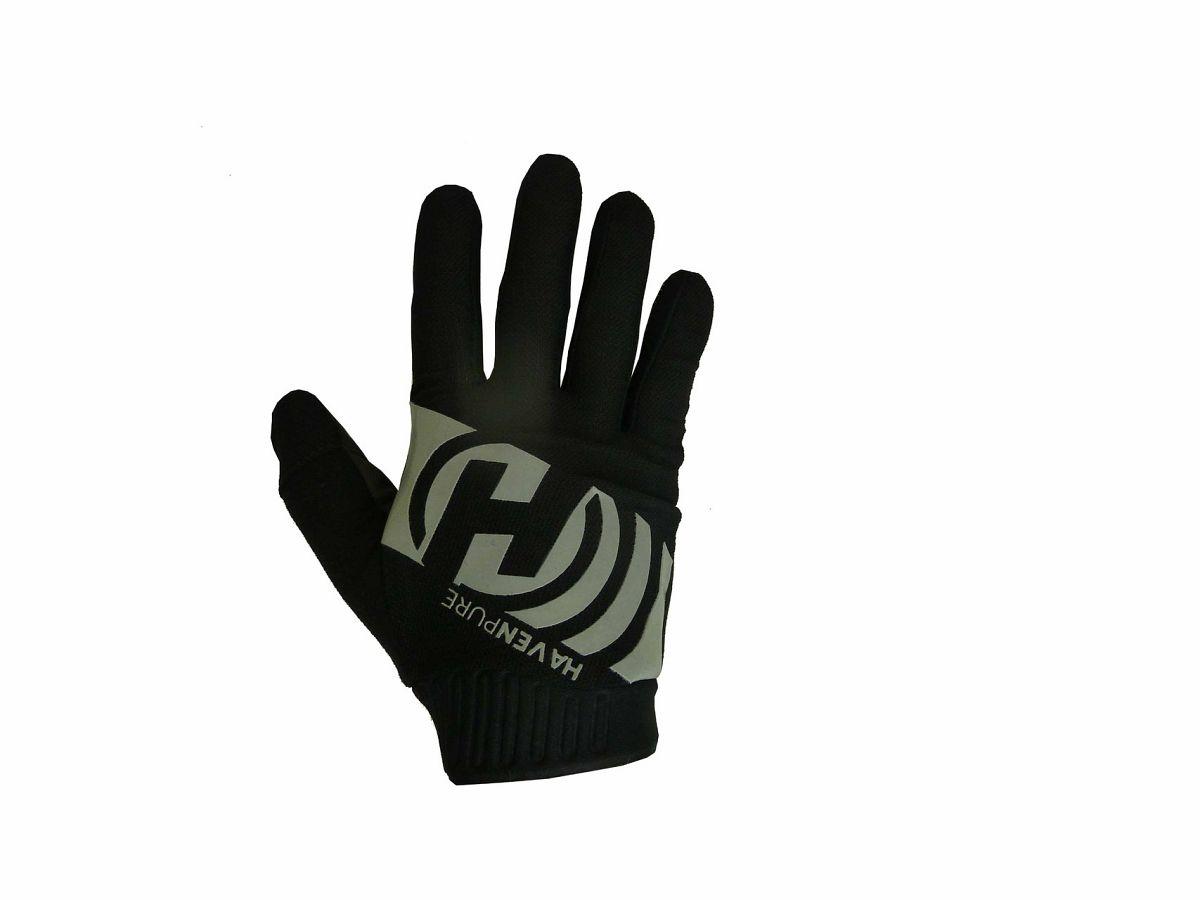 Dlhoprsté rukavice HAVEN PURE black