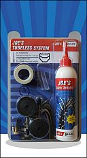 Joe´s Tubeless System XC - 26' (15-17mm) - galuskový ventil (White)