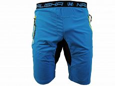 Kraťasy NALISHA SHORT blue/yellow