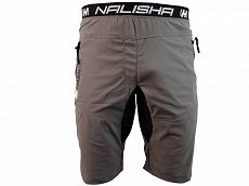 Kraťasy NALISHA SHORT grey/black
