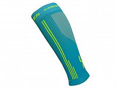Kompresní návleky HAVEN Compressive Calf Guard EvoTec blue/yellow- HIGH COMPRESSION