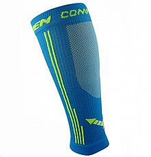 Kompesní návleky HAVEN Compressive calf Guard EvoTec blue - MIDDLE COMPRESSION
