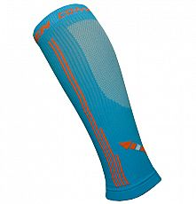 Kompresní návleky HAVEN Compressive Calf Guard EvoTec blue/orange- MIDDLE COMPRESSION
