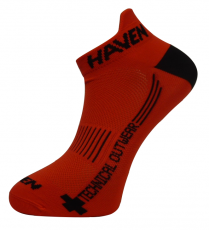 Ponožky HAVEN SNAKE Silver NEO red/black 2 páry
