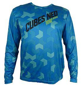 Volný dres HAVEN  Cubes  NEO Long Blue/Green