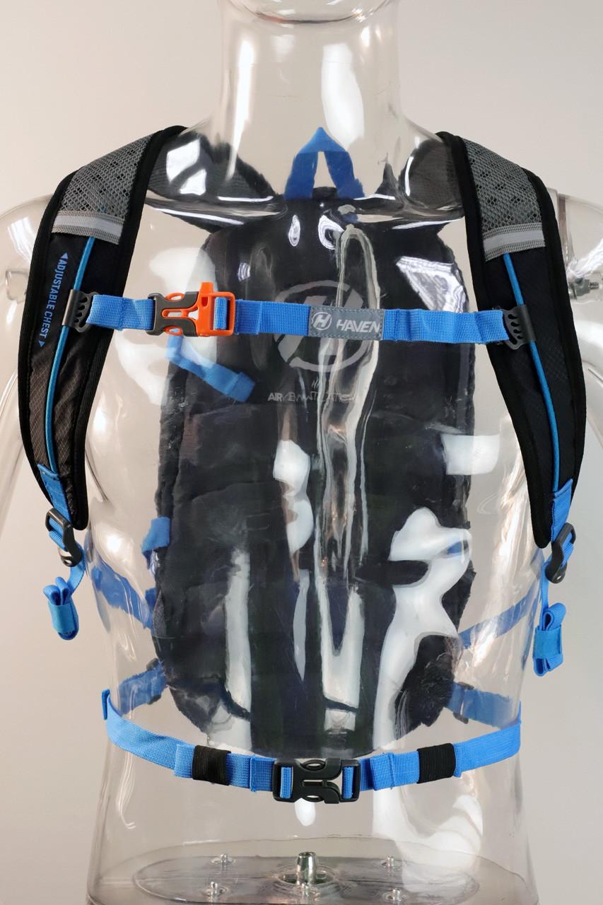 Batoh HAVEN LUMINITE II 18l black/blue s rezervoárem 2l
