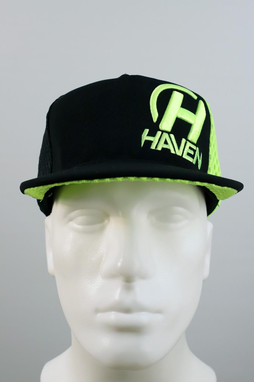 Šiltovka Haven black/green
