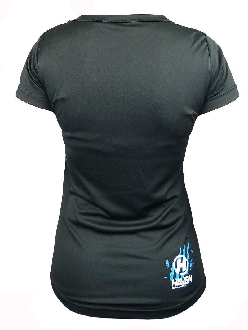 Dámský dres HAVEN AMAZON SHORT black/green + blue