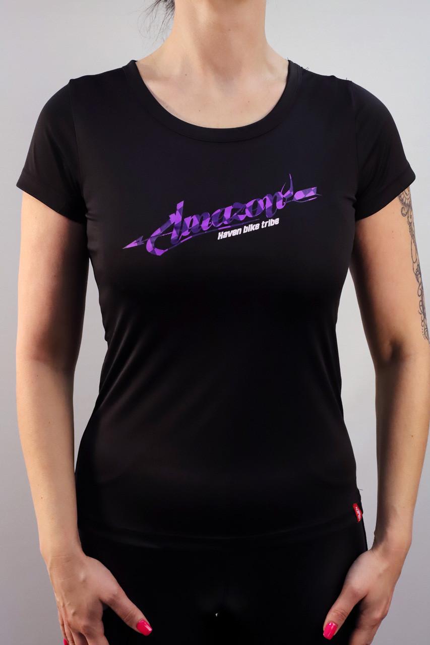 Dámský dres HAVEN AMAZON SHORT black/violet