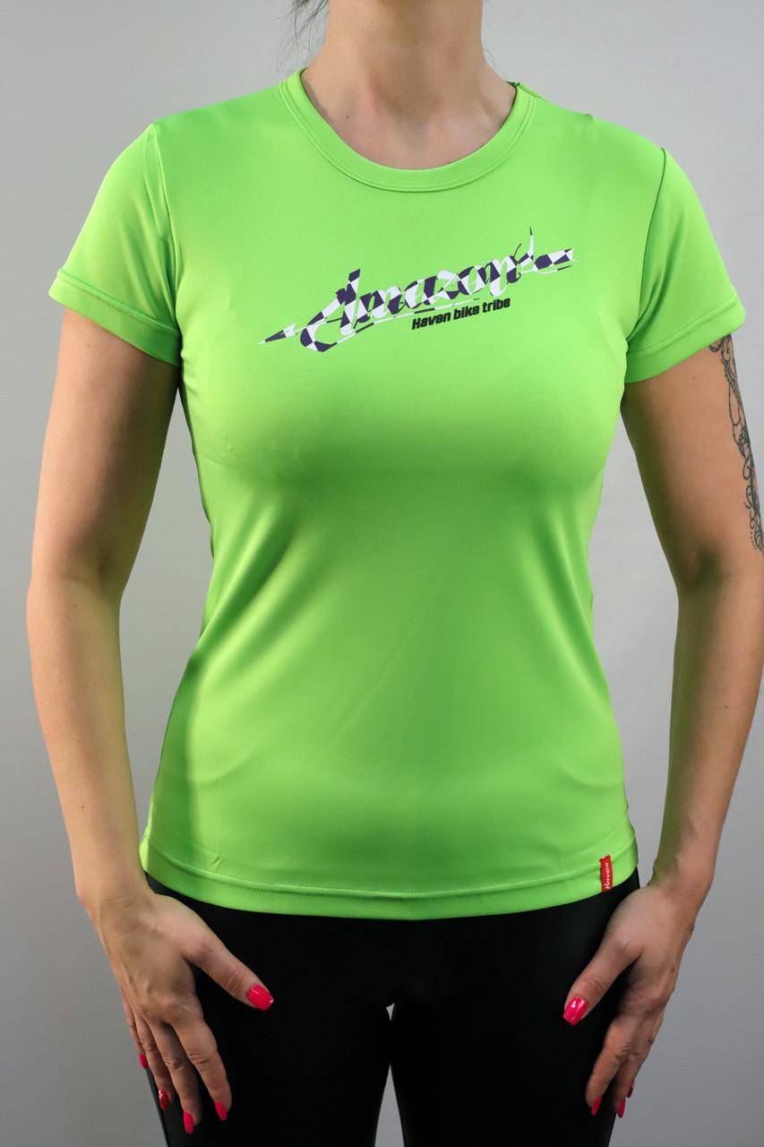 Dámský dres HAVEN AMAZON SHORT green/white