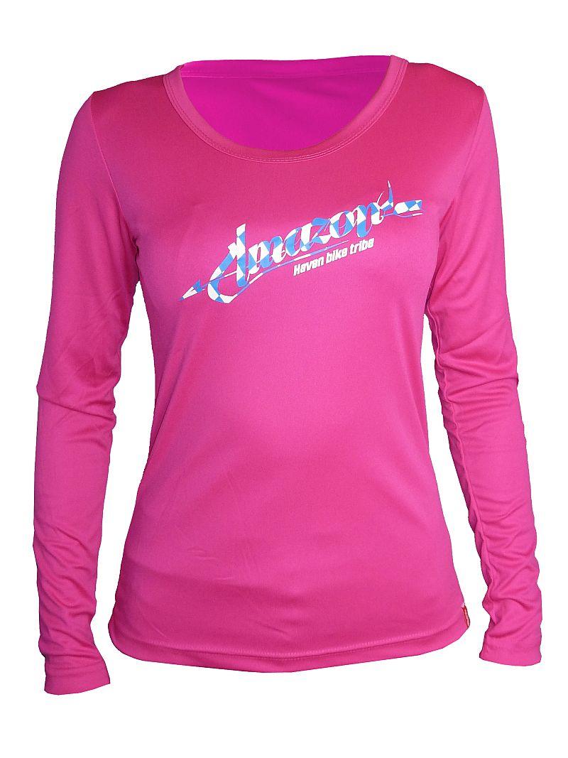 Dámský dres HAVEN AMAZON LONG pink/blue