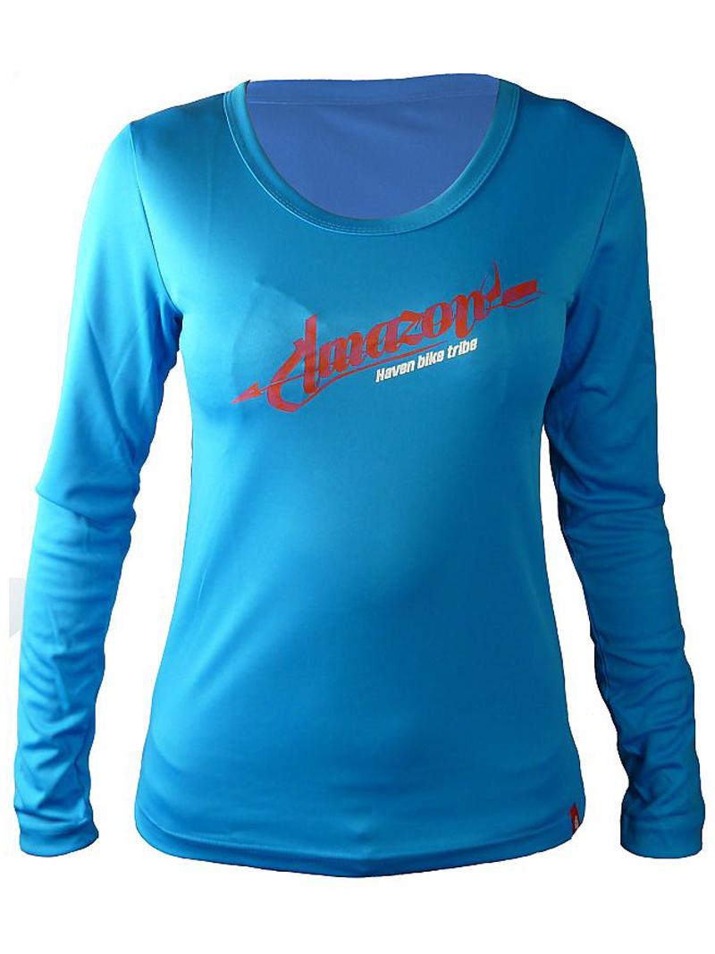 Dámský dres HAVEN AMAZON LONG blue/pink