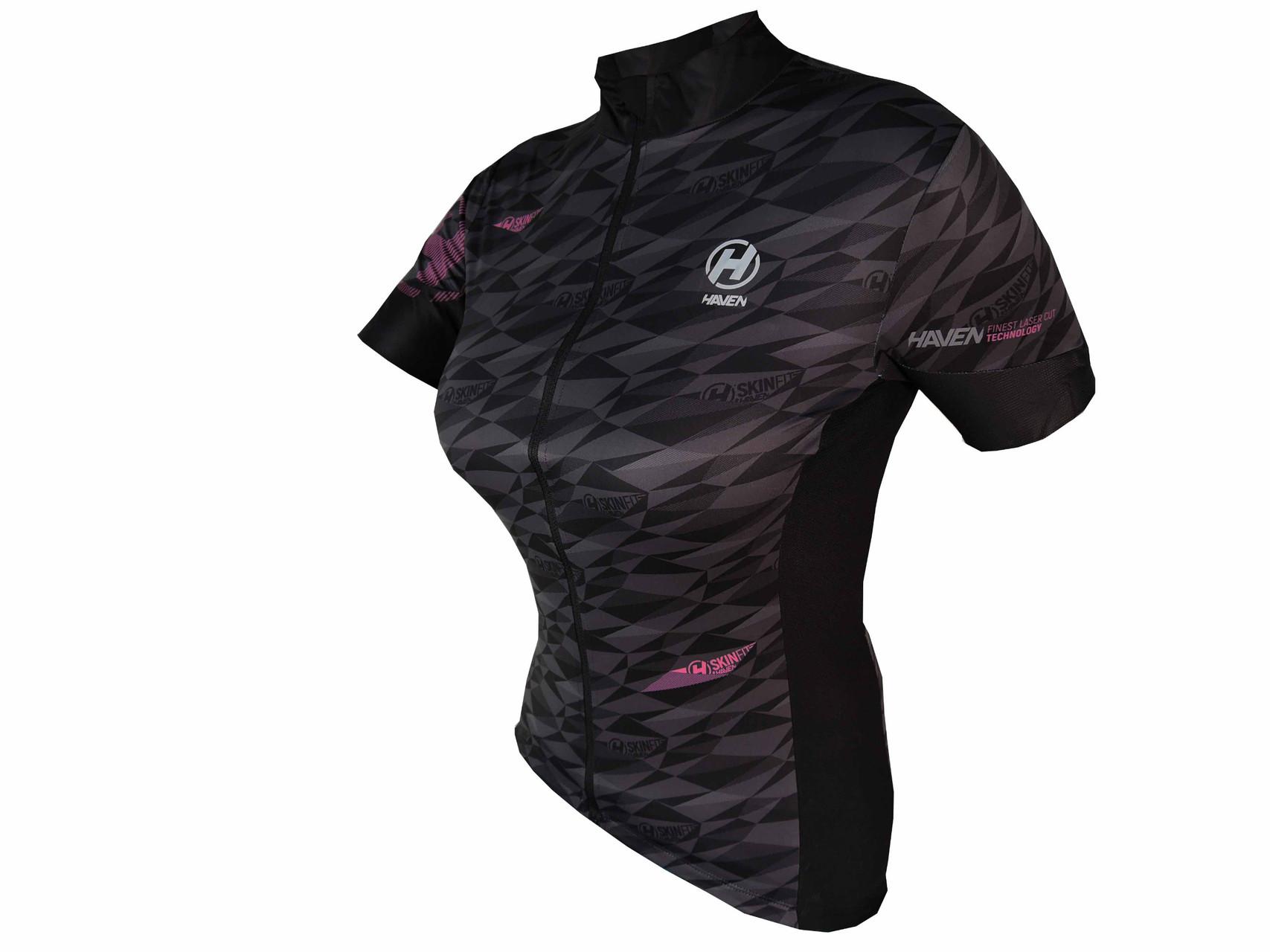 Dres HAVEN SKINFIT women, black/pink
