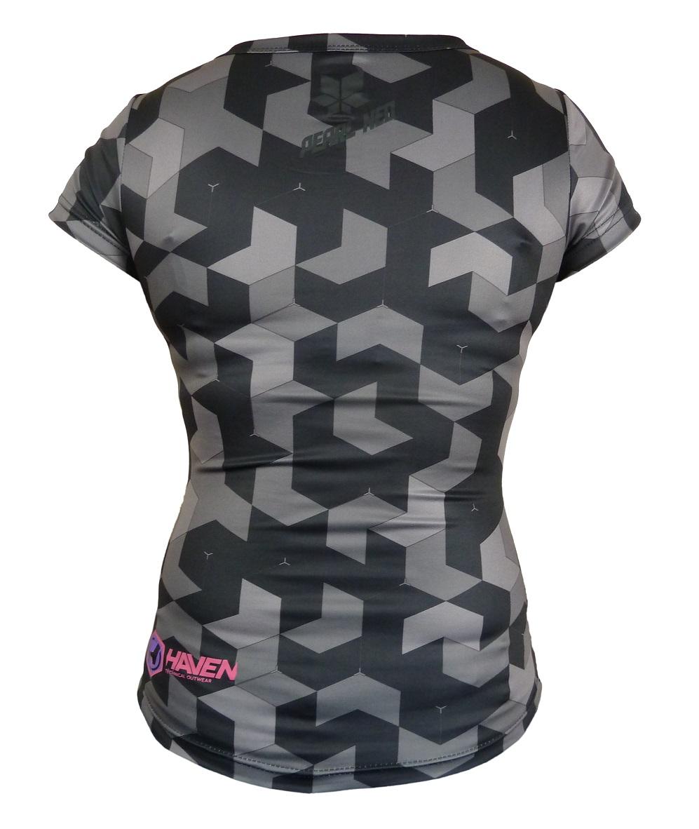 Dámský dres HAVEN PEARL NEO SHORT black/pink