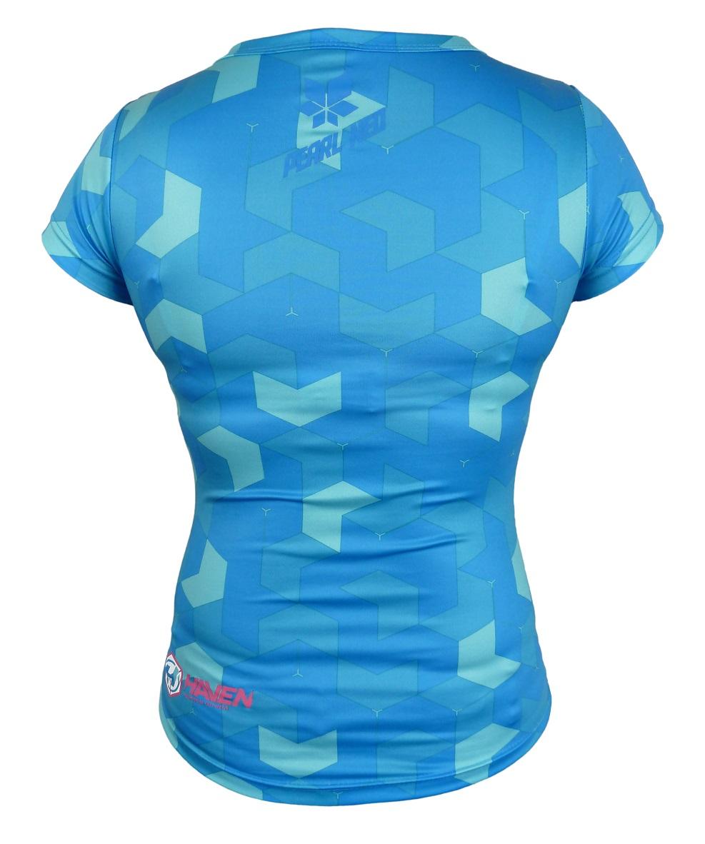 Dámský dres HAVEN PEARL NEO SHORT  blue/pink