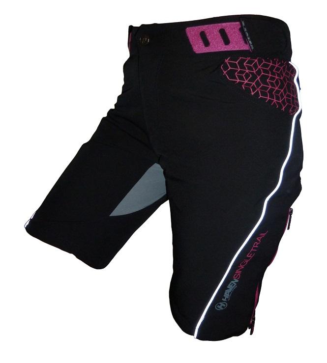 Dámské cyklokraťasy HAVEN SINGLETRAIL WMS black/pink
