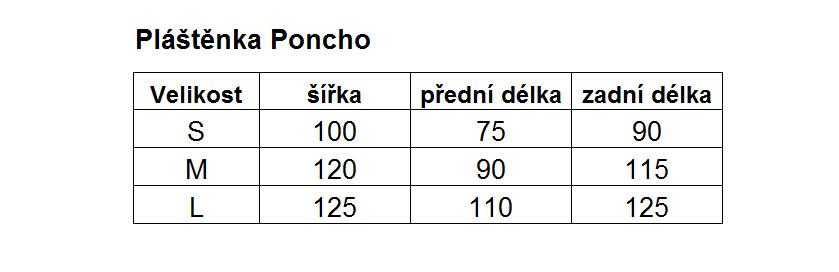 Pláštěnka HAVEN Poncho - White