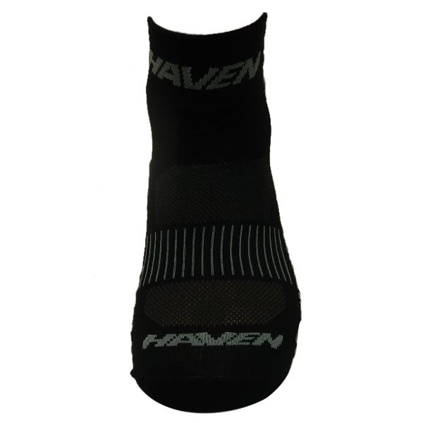 Ponožky HAVEN LITE Silver NEO black/grey 2 páry