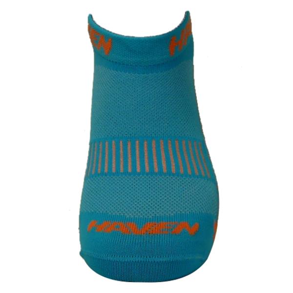 Ponožky HAVEN SNAKE Silver NEO blue/orange 2 páry