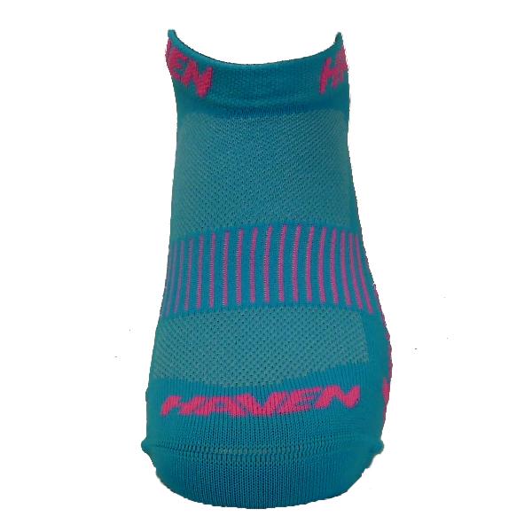 Ponožky HAVEN SNAKE Silver NEO blue/pink 2 páry
