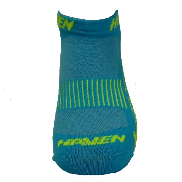 Ponožky HAVEN SNAKE Silver NEO blue/yellow 2 páry