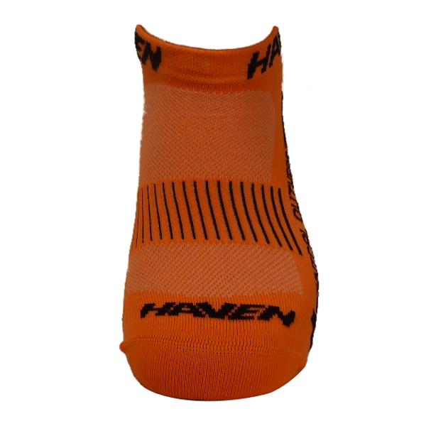 Ponožky HAVEN SNAKE Silver NEO orange/black 2 páry