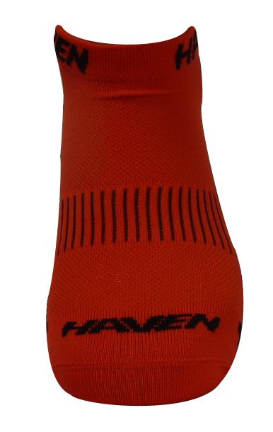 Ponožky HAVEN SNAKE Silver NEO red/black 2 páry