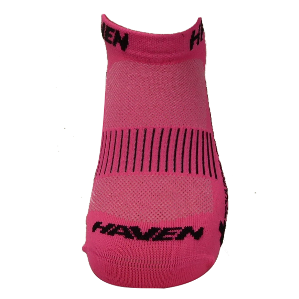 Ponožky HAVEN SNAKE Silver NEO pink/black 2 páry