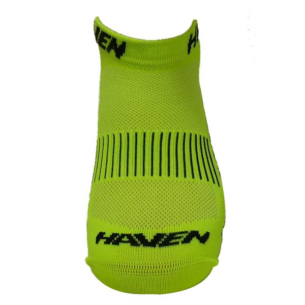 Ponožky HAVEN SNAKE Silver NEO yellow/black 2 páry