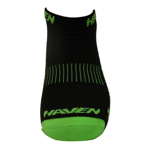 Ponožky HAVEN SNAKE Silver NEO black/green 2 páry