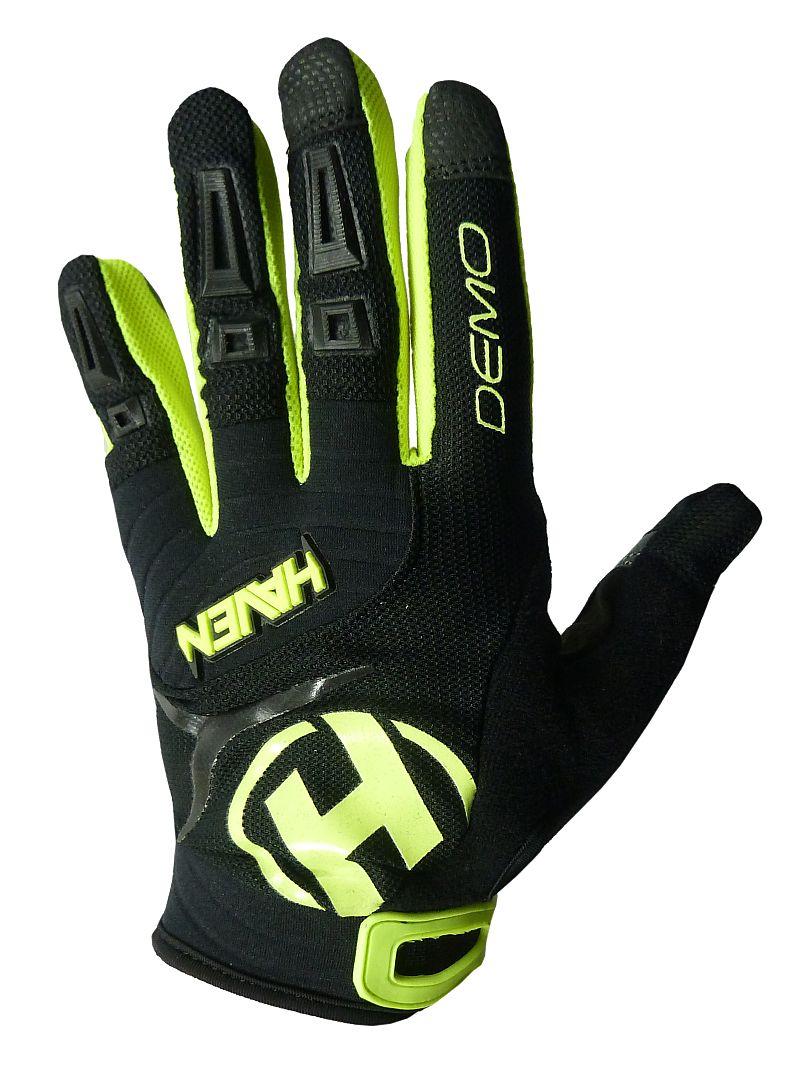 ae906a0dc4b Dlouhoprsté rukavice HAVEN Demo black green