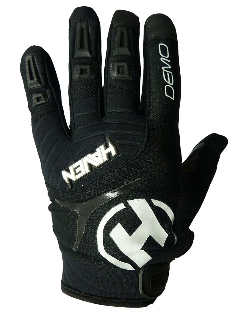 Dlhoprsté rukavice HAVEN DEMO LONG black/white