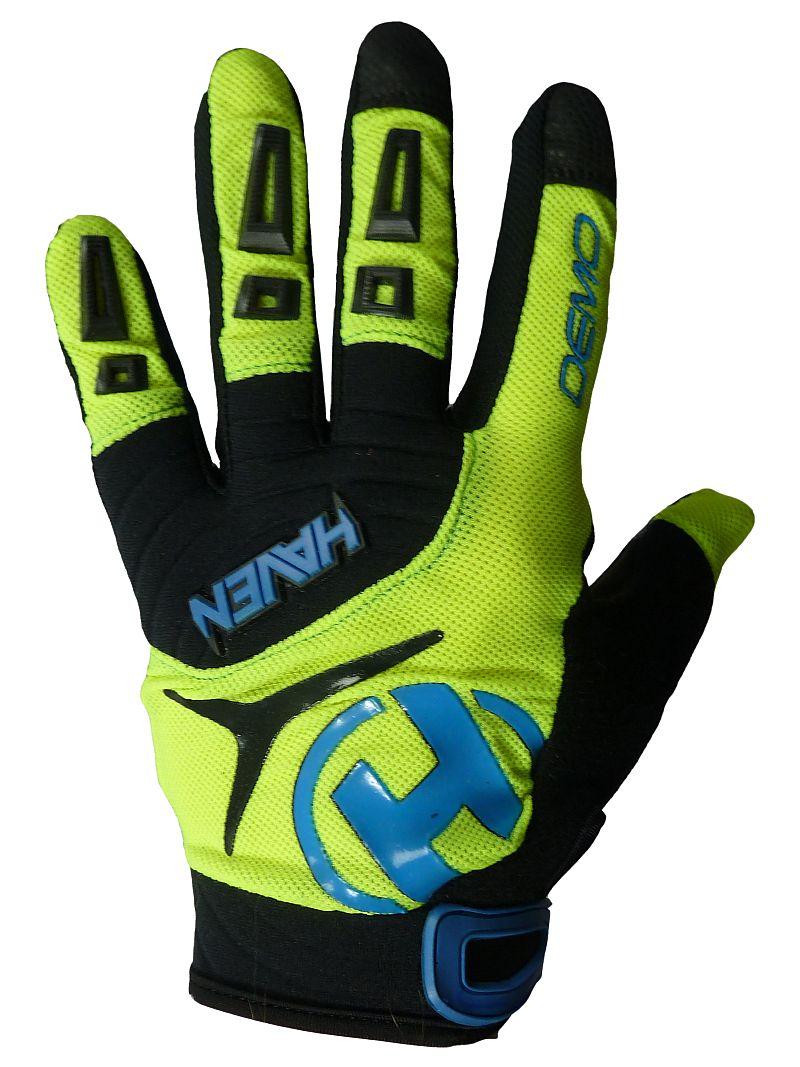 Dlhoprsté rukavice HAVEN DEMO LONG green/blue