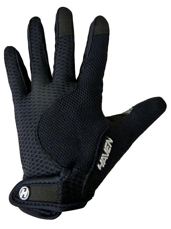 Dlhoprsté rukavice HAVEN KIOWA LONG black