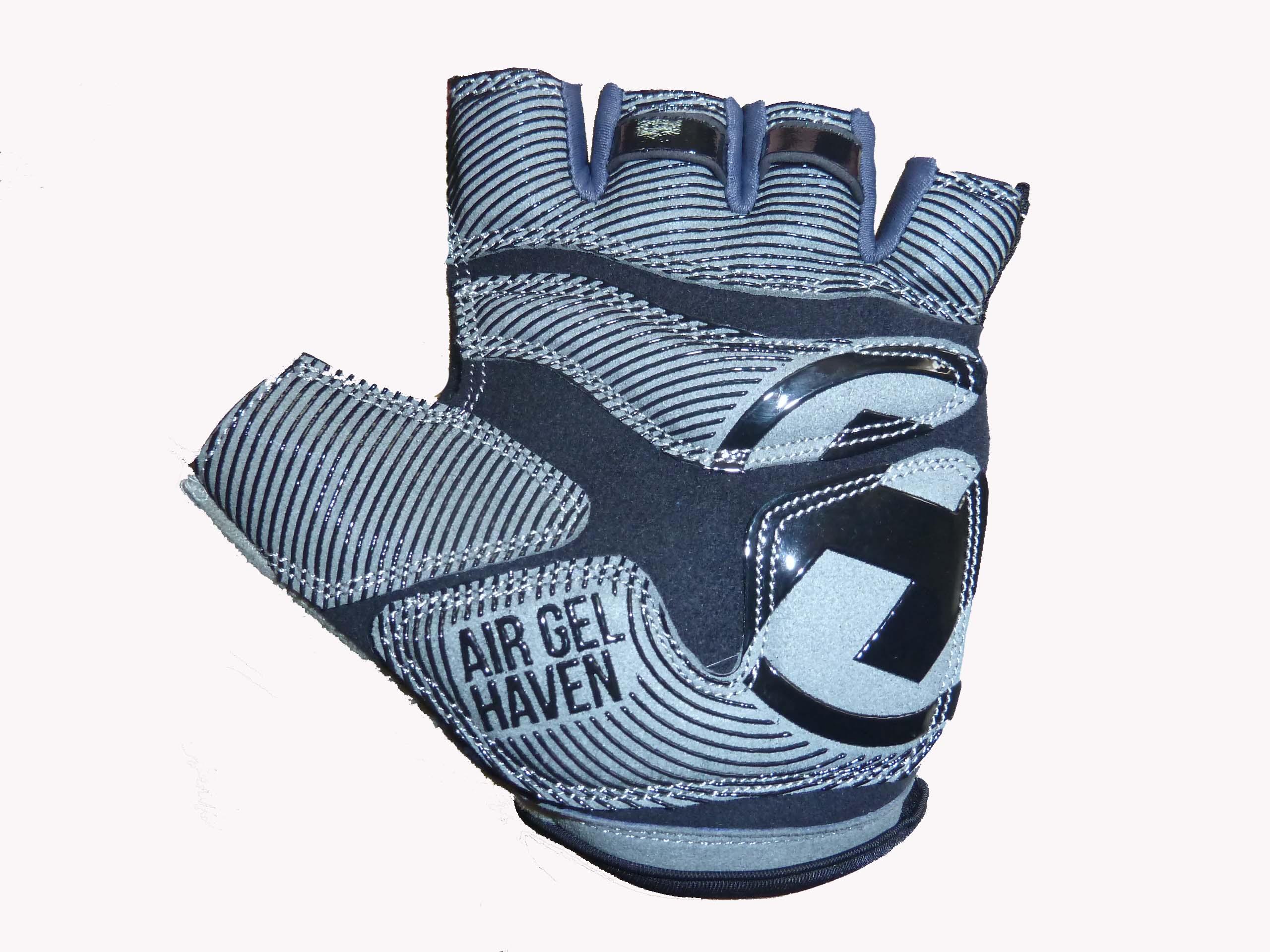 Krátkoprsté rukavice HAVEN KIOWA SHORT blue/green