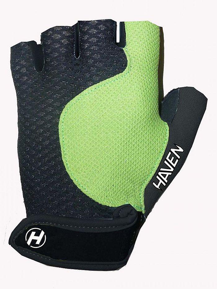 Krátkoprsté rukavice HAVEN KIOWA SHORT black/green
