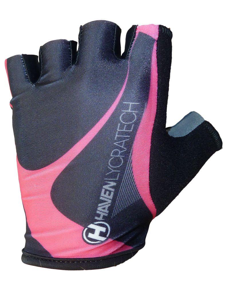 Rukavice HAVEN LYCRAtech black/pink XS
