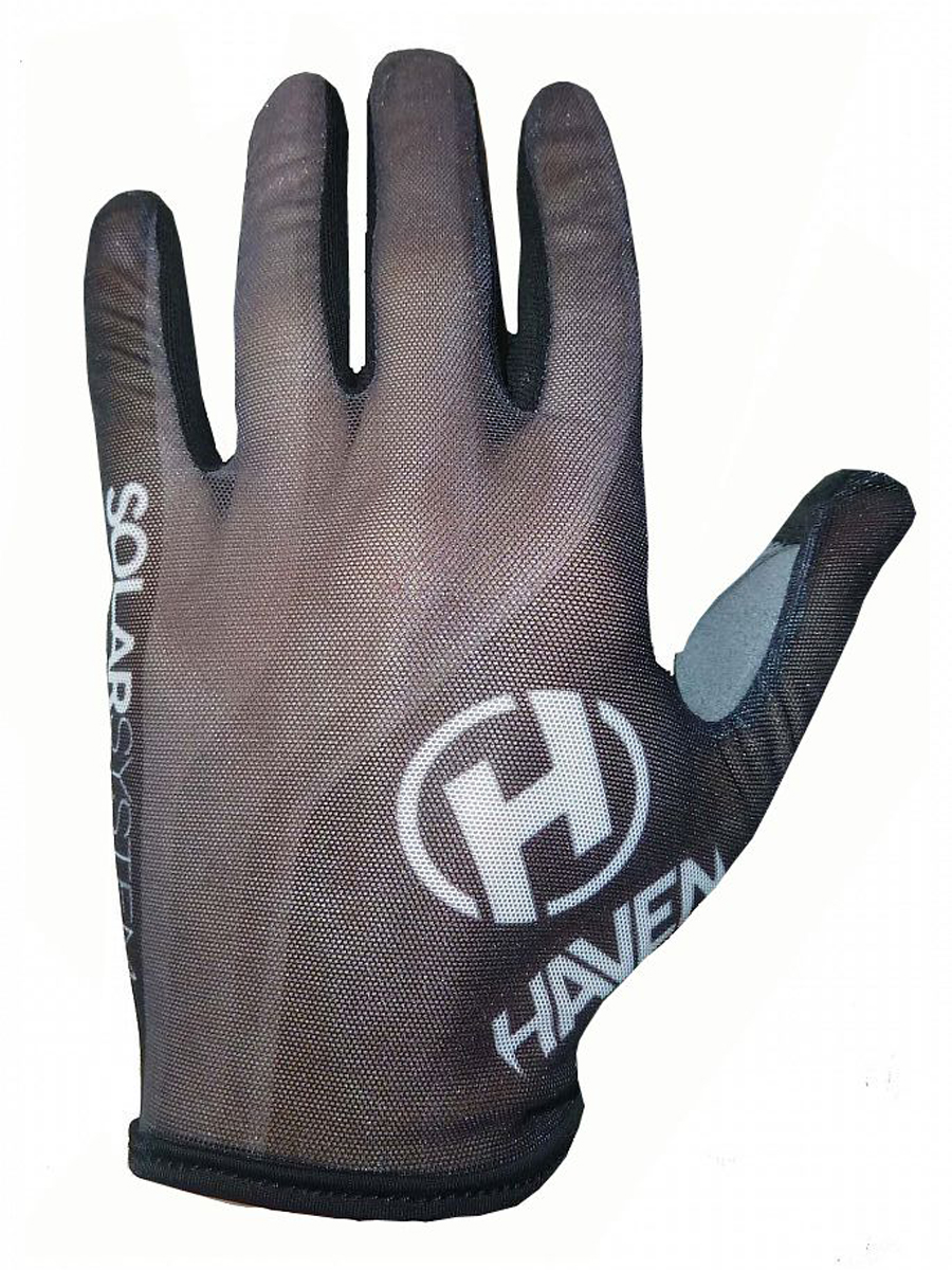 Dlhoprsté rukavice HAVEN SOLAR LONG black
